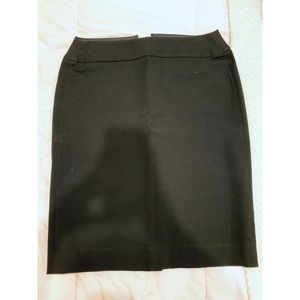 Banana Republic Size 10 Black Pencil Skirt